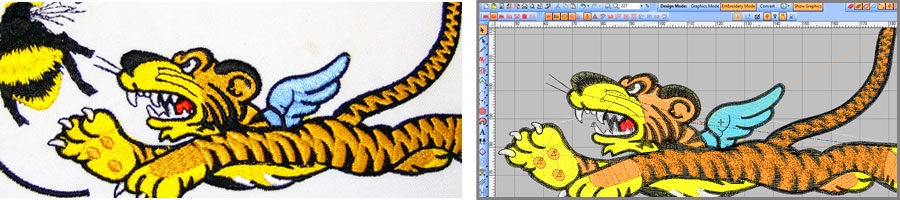 3 Dimensional Embroidery Techniques
