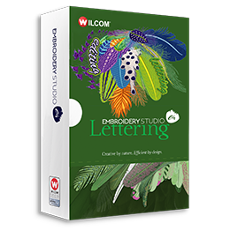 e4 lettering software box